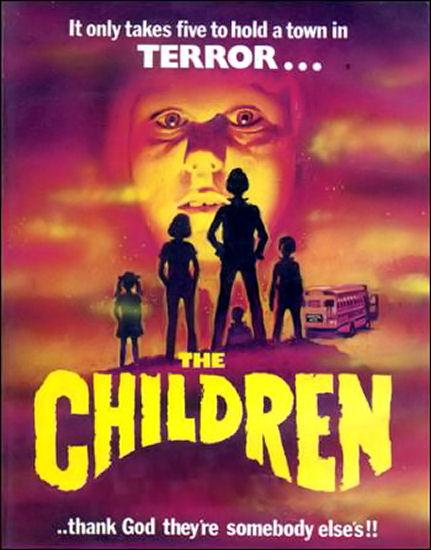 Horror Movie With Kids Black Fingernails